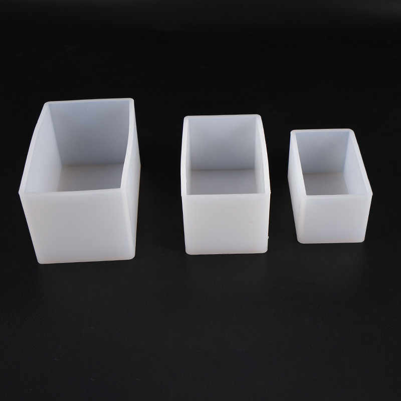 Round Rectangle Square Silicone Mold Soap Resin Decorative Craft Jewelry Making Mold Epoxy Resin Mold