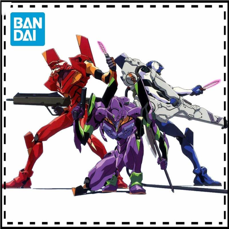 BANDAI Gundam RG EVA UNIT 01 EVA-00 DX Ver. SET Anime Evangelion Assembled Multipurpose Humanoid Action Figure Robot Speelgoed