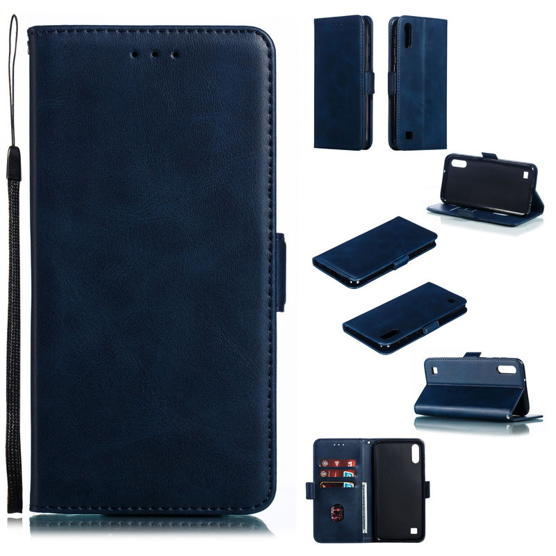 Case For SamSung Galaxy A10 Flip Fashion Leather Wallet Card slot Back Cover For SamSung A10 A10E A10S M10 A105F <font><b>A105FN</b></font> A107F image