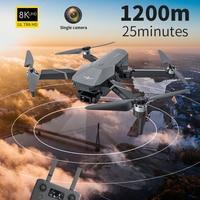 2021 nuovo KF101 Drone GPS Drone 4K Professional 8k HD EIS Camera anti-vibrazione 3 assi Gimbal 5G Wifi motore Brushless RC giocattolo pieghevole