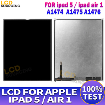 9.7 inch For Apple iPAD AIR 1 LCD Display A1474 A1475 A1476 Touch Screen Panel Assembly Digitizer For iPAD 5 Display Replace image