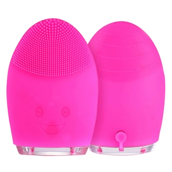 Emporiaz Silicone Face Cleaning Mini Electric Massage Brush Cleansers