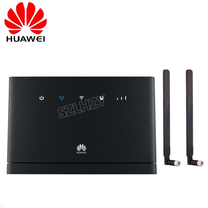 Unlocked Huawei B315 4G CEP Portable Wireless WIFI Router Huawei B315s-22 4G Lte Wifi Hotspot +2pcs 4g SMA Antenna PK B593 B310