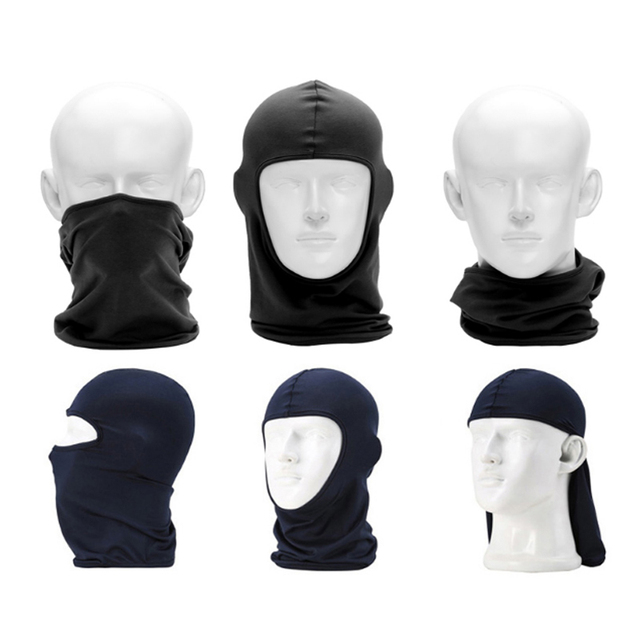 Tactical Military Face Mask Breathable Balaclava Sports Headgear Quick Dry Beanies Windproof Cap Motorcycle Helmet 2