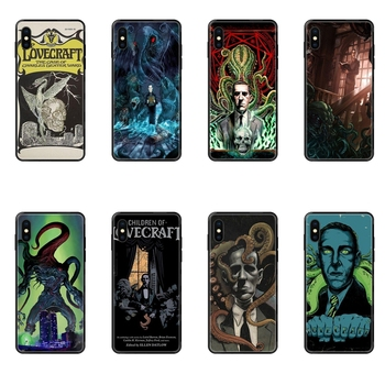 Buy Lovecraft Film Festival Special Luxury Black Soft Phone Case For Redmi Note 4 5 5A 6 7 8 8T 9 9S Pro Max image