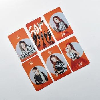 6pcs/set ITZY photocard album cards ITZ ME K-pop ITZY