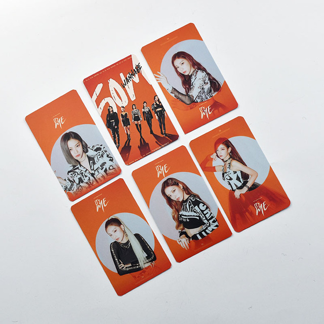 6pcs/set ITZY photocard album cards ITZ ME K-pop ITZY 1