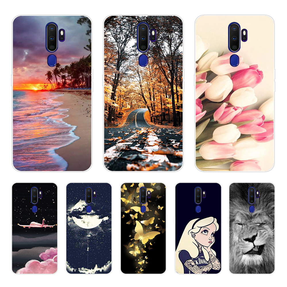 Popular <font><b>Case</b></font> For <font><b>Oppo</b></font> A9 <font><b>A5</b></font> 2020 <font><b>Case</b></font> Soft TPU Cool <font><b>Phone</b></font> <font><b>Cases</b></font> For <font><b>Oppo</b></font> <font><b>A5</b></font> A9 2020 A11x Back Cover <font><b>Case</b></font> Silicone Coque Funda image