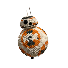 Building Blocks Compatible MOC-4824 UCS BB8 Spherical Robot Technic Bricks Gifts Fit lepining Diy Toy Christmas Gift new idea rc motor power functions wall e robot fit technic figures moc building block bricks diy toy gift kid birthday xmas