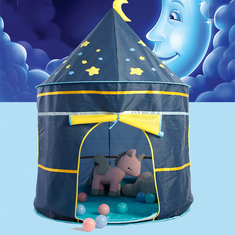 Children's Tent Portable Play Kids Tent Children Indoor Outdoor Ocean Ball Pool Folding Cubby Toys Castle Playhouse Gift For Kid