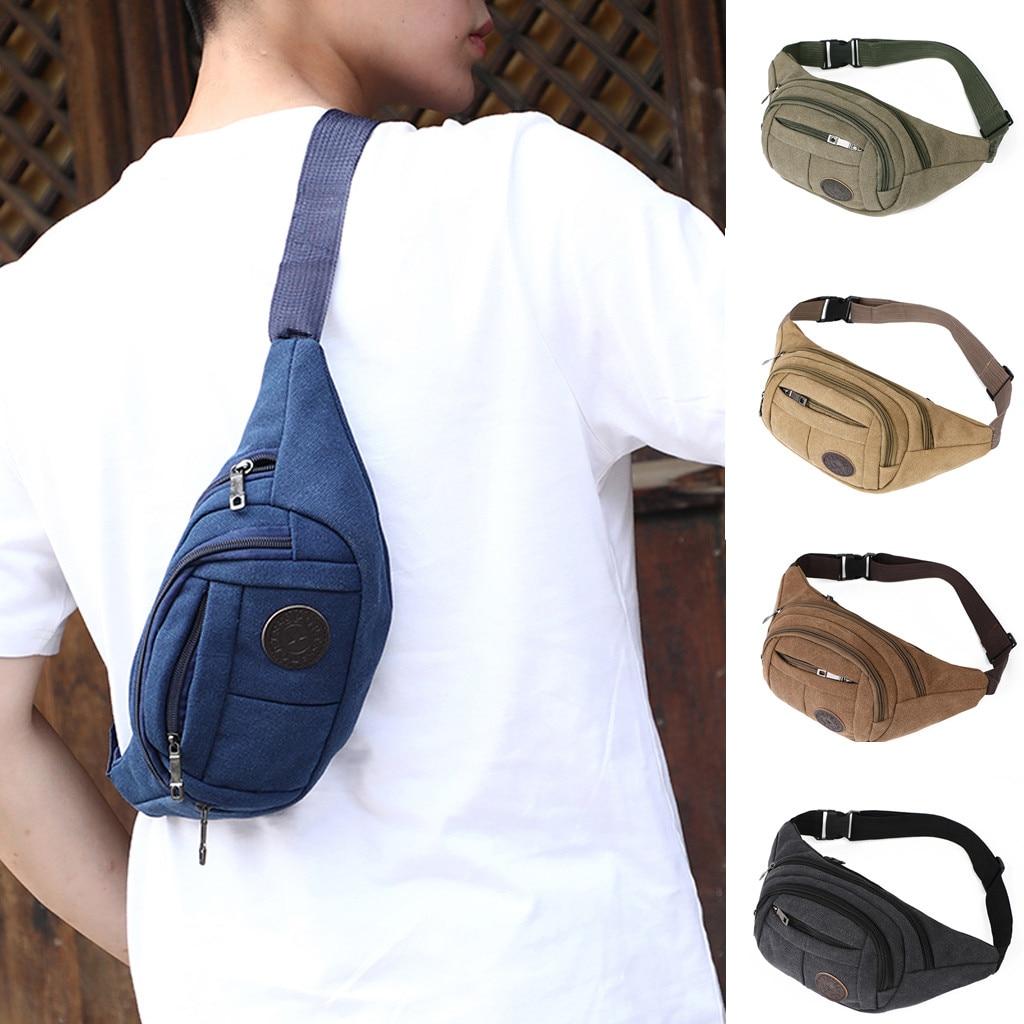 Waist Bag Women Men Unisex Outdoor Waterproof Functional Streetwear Belt Bag Sports Portable Purse Chest Bags Heuptas 2019