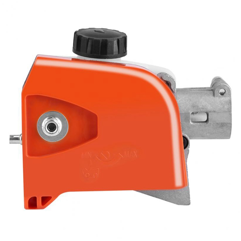 Tree Chainsaw Gear Head 26Mm Orange Spline Pole Saw Tree Cutter Chainsaw Gearbox Gear Head Tool 9 Spline|Electric Saws|   - title=