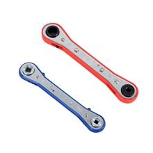 1 шт. двойной Трещоточный ключ мини-вентилятор инструмент для обслуживания запорный ключ инструмент