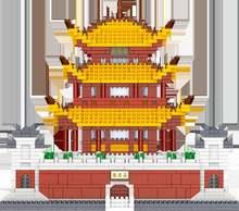 Конструктор «Башня yueyang» с изображением китайского города