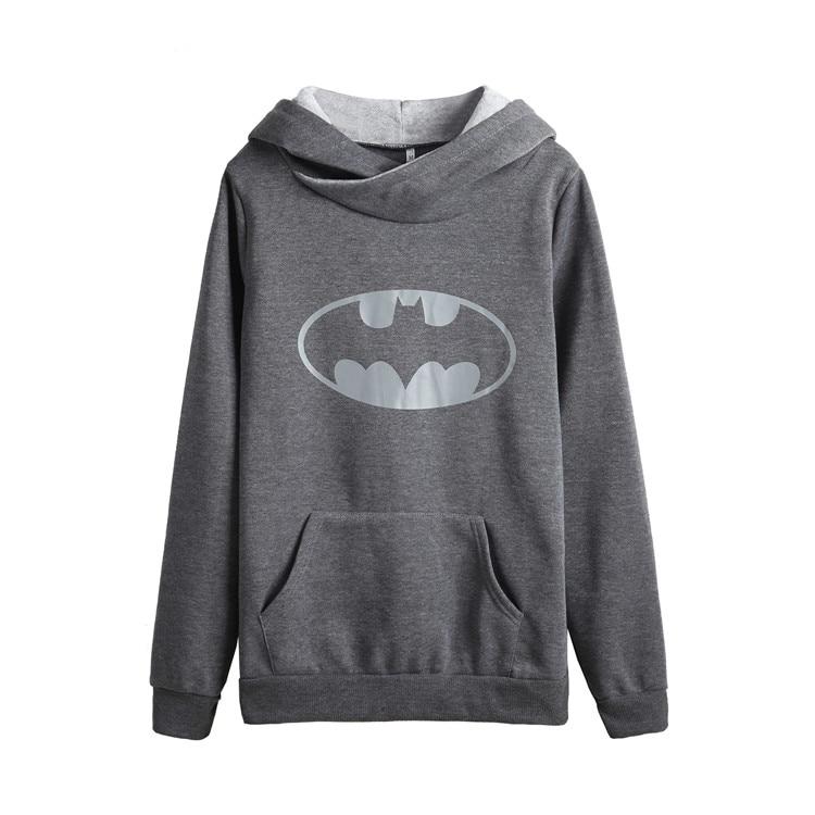 5365 # Batman Printed Hoodie Long Sleeve Cross Neck Hoodie 2020 New