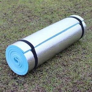 Image 5 - Outdoor camping mat air mattress picnic blanket picnic mat pads Aluminum Foil mat Camping Dampproof beach mat 180*50*0.6cm