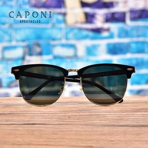 Image 5 - CAPONI Polarized Sunglasses Men Women Popular Brand Classic Design Sun Glasses Coating Lens Shade Fashion Girls Eyewear CP3101