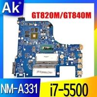 G70-80 Para For Lenovo G70-70 B70-80 Z70-80 I7-5500U anakart AILG NM-A331 Rev1.0 DDR3L com GT840M/GT820M Teste 100% orijinal