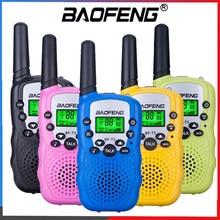 """Baofeng BFT3 иди и болтай Walkie Talkie детская иди и болтай Walkie Talkie """"иди и BF-T3 мини двойной радио PMR подарок на день рождения/семья Применение/Кемпинг/по..."""