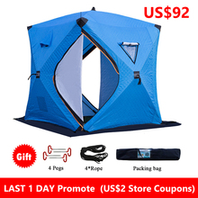 ICE-FISHING-SHELTER Easy-Set-Up Waterproof Winter Portable