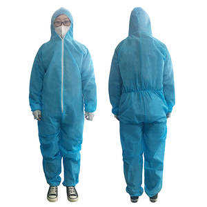 Overall-Suit Painting Clothes Safety-Clothing Protective Work Disposable Multipurpose