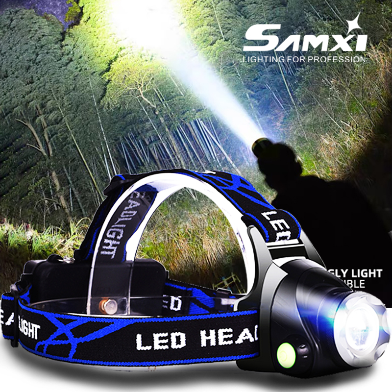 2020 IR Sensor T6/L2/V6 Headlamp USB Charger HeadLight Induction LED Headlamp For Camping Fishing As Rechargeable LED Flashlight