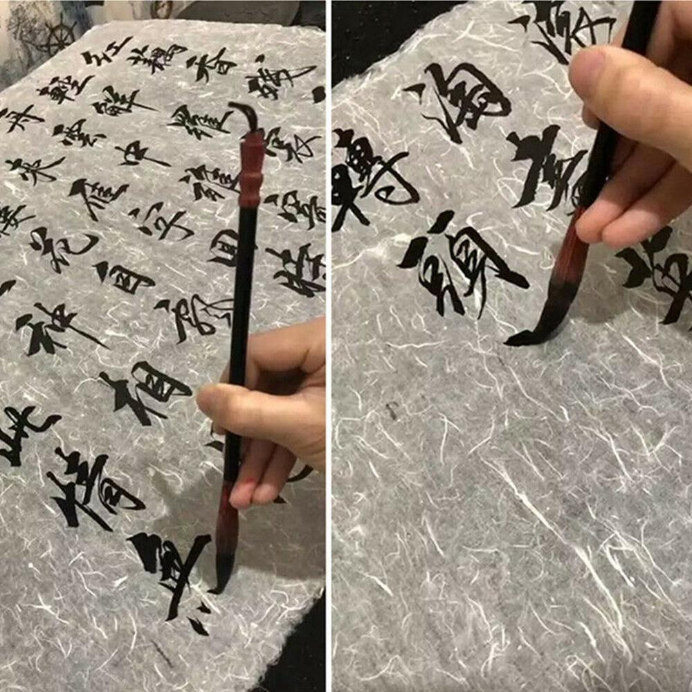 10sheets See-through Chinese Rice Paper Calligraphy Painting Paper Mulberry Long Fiber Xuan Zhi Lantern Paper Sumi-e