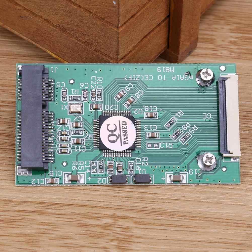 1pcミニsata msata pci-e ipod ssd 40pin 1.8インチzif ceコンバータカード