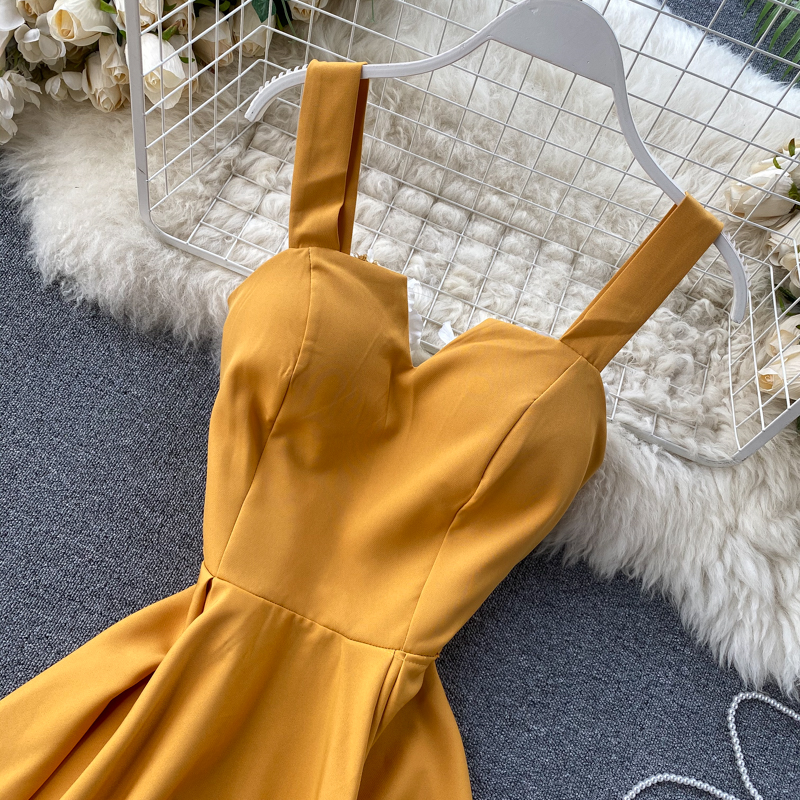 Elegant Vintage Sleeveless V-Neck Bandage Dress 14