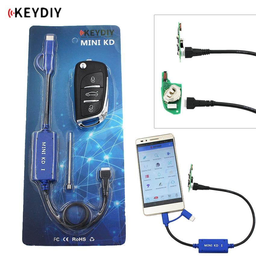 Keydiy minigerador de chaves, remoto, no seu celular, com suporte android, faça mais de 1000 controles remotos automáticos, similar a kd900