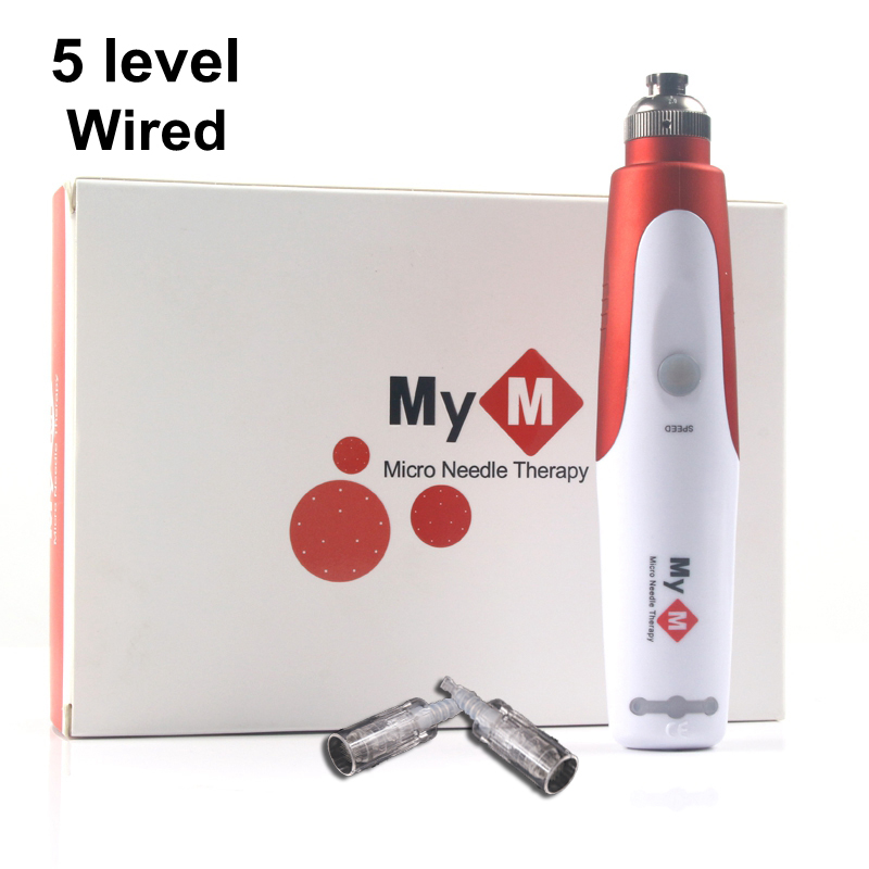 Professional Wired Bayonet Micro Needle Pen MYM Ultima N2-C Mts Microneedling Pen For Derma Micro Rolling Stamp Skin Care