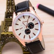 New Fashion Business Men's Watch Korean-Style Sports Three-Eye Blue Color Big Light Side Quartz Luxury Watch Men Wristwatch