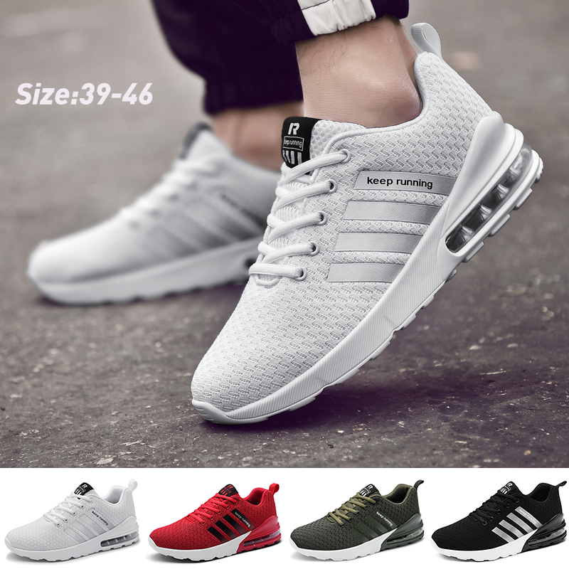 Men's Fashion Running Shoes Tennis Sneakers Air Cushion Casual Athletic Lightweight Shoes