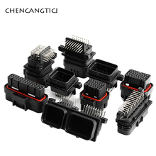 цена на 1 set 26 34 60 Pin Way Female Male TE AMP Tyco SUPERSEAL 1.0mm Waterproof Auto Oil Gas Connector Plug 3-1437290-7 4-1437290-0