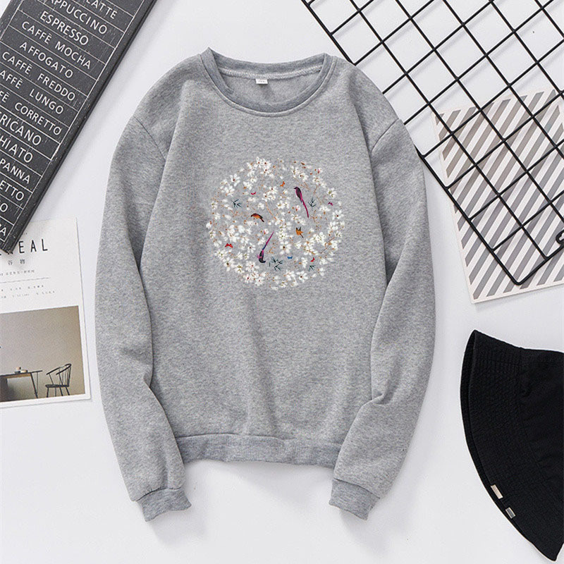Photo Shoot Round Neck Sweater Plus Velvet Men And Women Couple Clothes Fashion Men's Sweatshirts & Hoodies Early Autumn New Sty