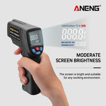 цена на Digital Infrared Thermometer Non Contact Temperature Gun Laser Handheld IR Temp  hygrometer weather  thermometre Test