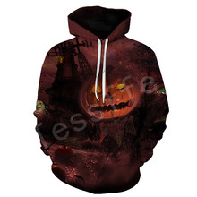 Tessffel Halloween Skull  Harajuku MenWomen HipHop 3Dfull Printed Hoodie Tracksuit Hoody Casual NewFashion colorful camo Style30