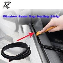 Auto Styling 1M Rubberen Afdichting Strip Side Window Naad Kloof Sticker Voor Hyundai IX35 I30 Solaris Creta Tucson Kona nissan Qashqai J11