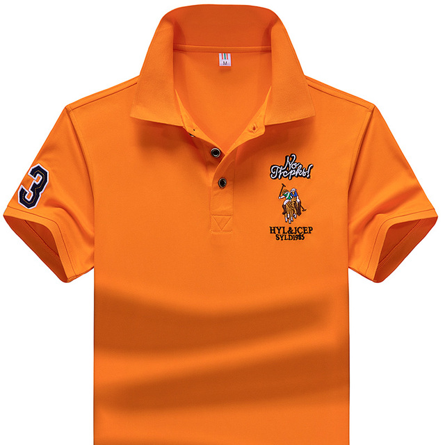 Polo Shirt Summer Brand Clothing Golf polo shirt Men Business Casual Male Polo Shirts Short Sleeve Breathable Soft Polo Shirt 4