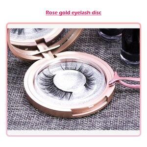 Image 3 - Magnetic False Eyelashes No Glue Full Eye 5 Magnet Reusable Fake Eyelashes Natural Soft Eyelashes Extension Magnetic Eyelash Kit