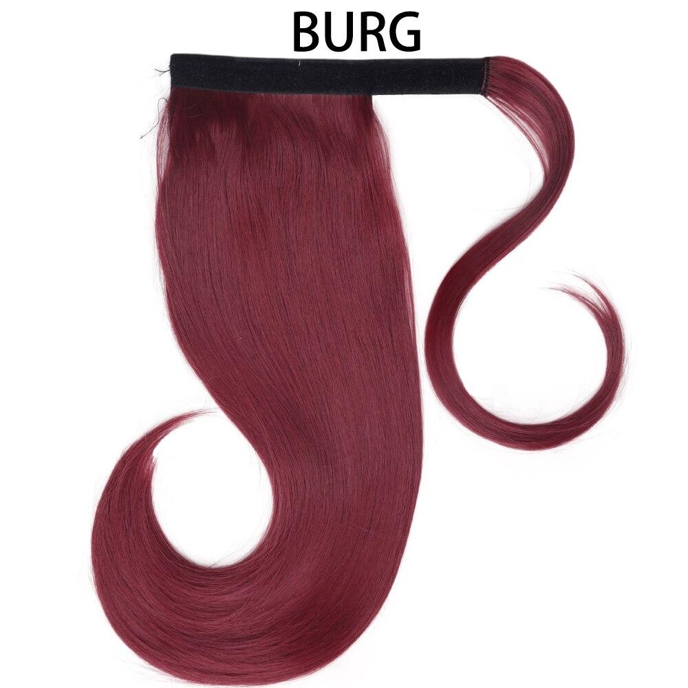 de cabelo sintético extensões de cabelo reto