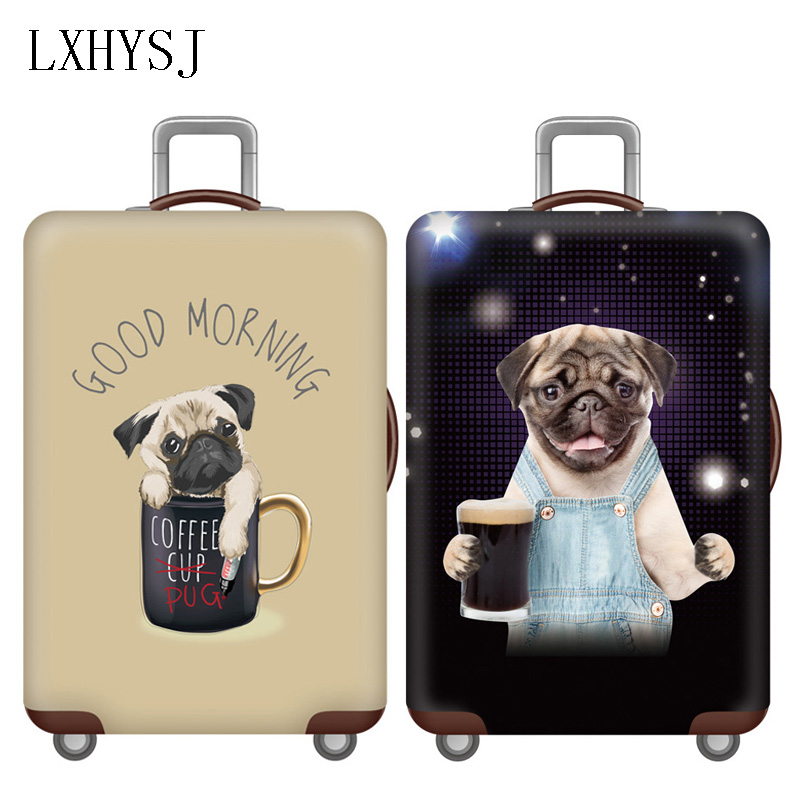 Elasticity Thicken Luggage Protective Cover Suitcase Dust Cover For 18-32 Inch Suitcase Case Travel Accessories HW667