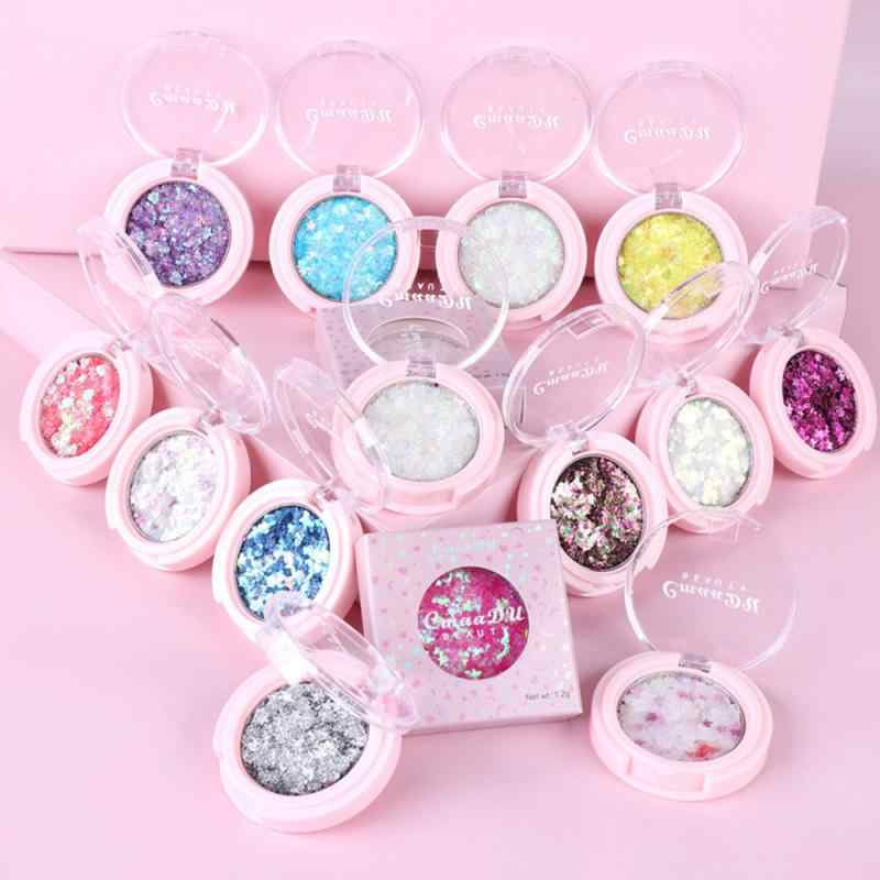 Tahan Lama Fashion Warna-warni Eye Shadow Palet Riasan Tahan Air Kecantikan Makeup Shimmer Matte Eye Shadow Kosmetik Tslm 1
