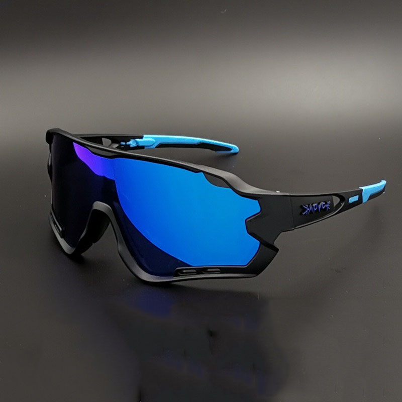 KAPVOE Polarized <font><b>5</b></font> <font><b>Lens</b></font> Cycling <font><b>Glasses</b></font> Road <font><b>Bike</b></font> Cycling Eyewear Cycling Sunglasses MTB Mountain Bicycle Cycling Goggles image