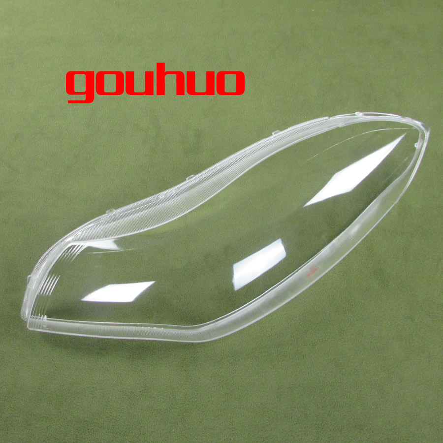 Headlamps Transparent Lampshades Lamp Shell Lamplight Cover Lamp Shell Masks For Chery Fulwin 2 Hatchback 2009 2010 2011 2012
