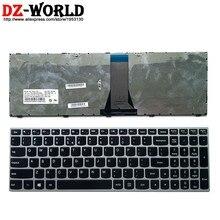 Новая Оригинальная Серебристая USI английская клавиатура для ноутбука Lenovo E51-35 80 30 Φ B70-80 75 80