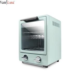 900W toster japonia dwuwarstwowa piekarnik pieczenie W domu wielofunkcyjny Mini piekarnik elektryczny 9L piekarnik