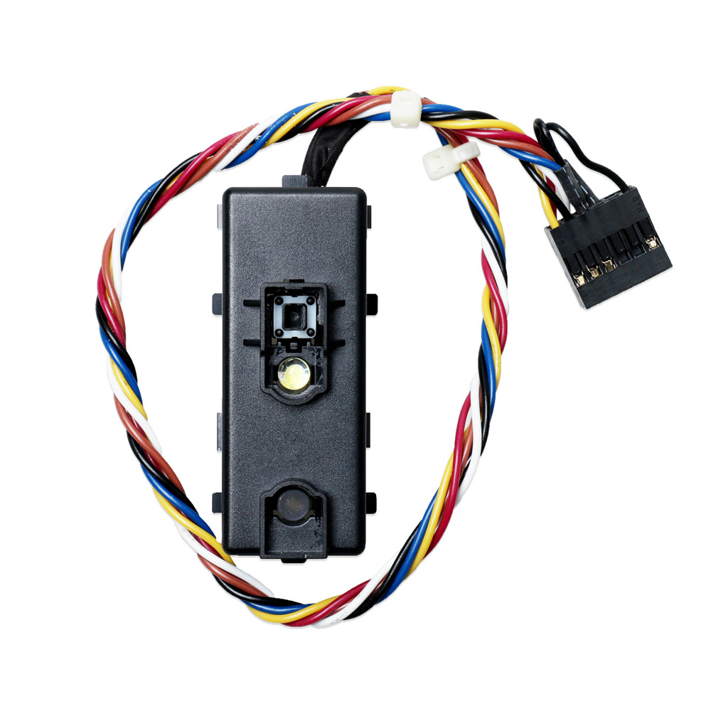 Professional Power Button Switching Line For DELL XPS 8100 8200 X8300 8700 Replacement Switch Cable 0F7M7N Part