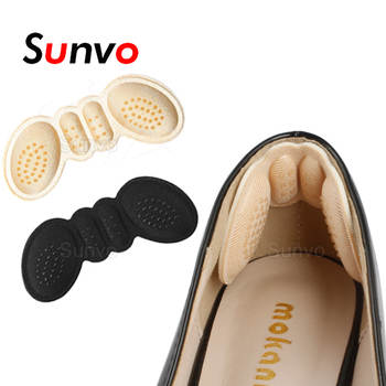 Sunvo Women Insoles for Shoes High Heels Adjust Size Adhesive Heel Liner Grips Protector Sticker Pain Relief Foot Care Inserts