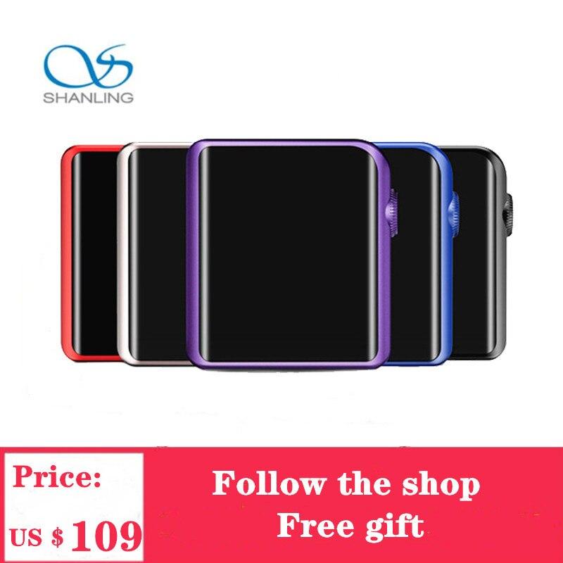 Shanling M0 плеер MP3 с aptX Bluetooth DAC Type C Mini Hi Res HIFI DAP функции для бега спорта ES9218P